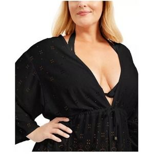 NWT - Dotti Plus Size Gypsy Gem Tunic Cover-Up